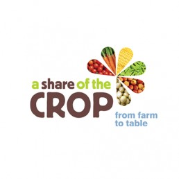 a share of the crop logo